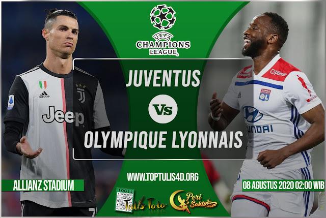Prediksi Juventus vs Olympique Lyonnais 08 Agustus 2020