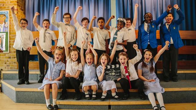 Alumnado sordo de la Escuela Heathlands protagonistas del cortometraje SSL