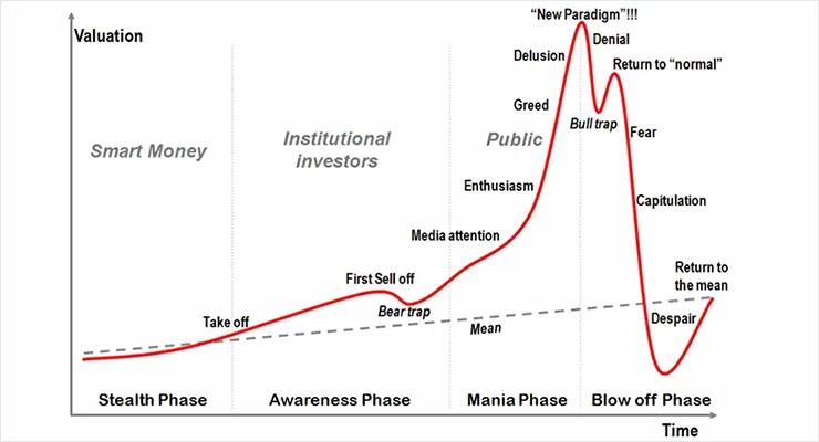 Стадии пузыря