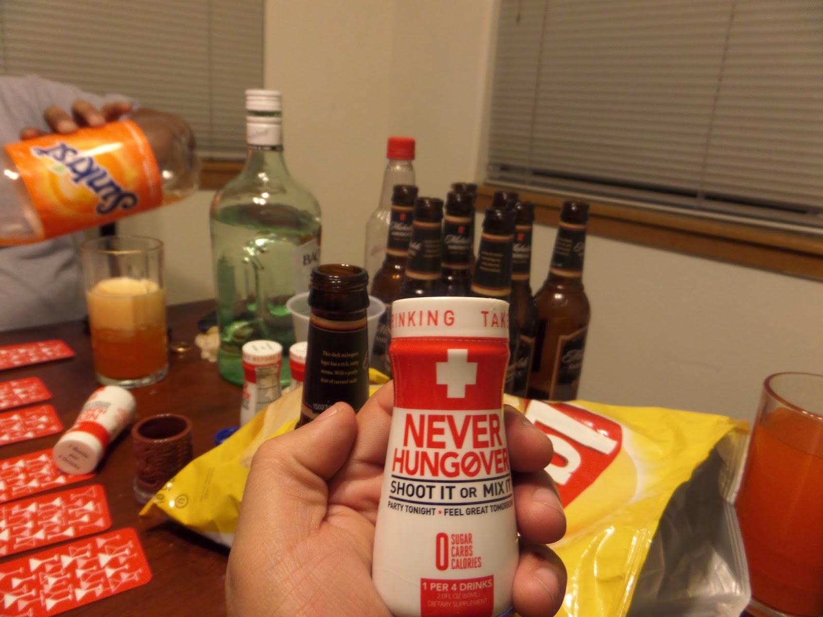 Never Hungover Review ~ Metallman's Reverie