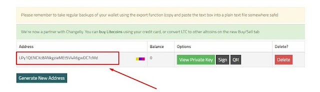 Cara Membuat Wallet Litecoin Mudah dan Gratis dengan situs LiteVault