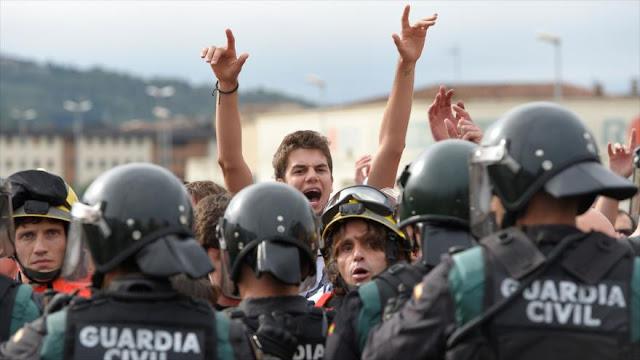 Sindicatos policiales exigen fin del 'acoso' de los separatistas