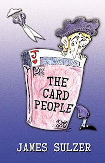 The Card People 1 - a middle-grade sci-fi book promotion by James Sulzer