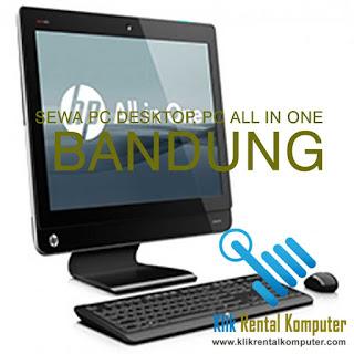 pusat sewa rental komputer pc desktop pc all in one di Bandung, jasa rental komputer Bandung