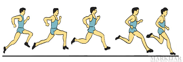 Fase Layang - Lari Jarak Pendek