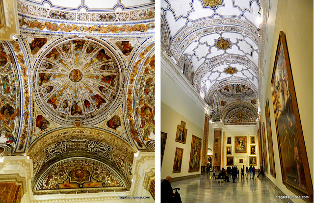 Antiga capela do Convento de la Merced Calzada, em Sevilha, hoje parte do Museu de Belas Artes