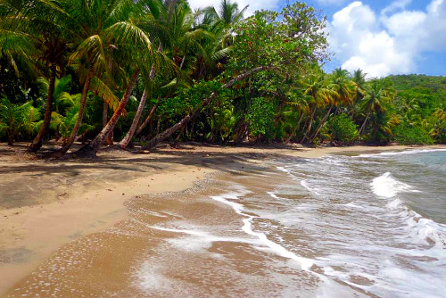 Batibou Beach in Dominica