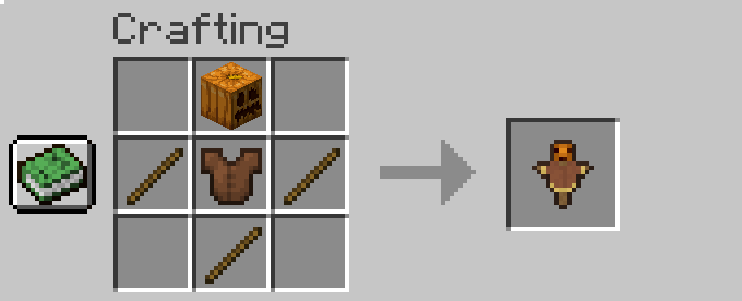 Feders Scarecrows Mod Crafting Recipes 1.17.1 Fabric