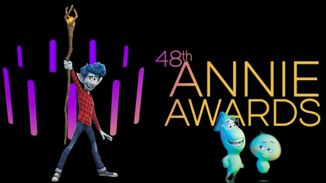 Pixar Soul and Onward Nominated for Annie Awards