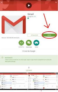Usar Gmail e-mail no celular