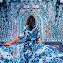 15 Pictures Of Girls In Dresses That Beautifully Match Their Backgrounds