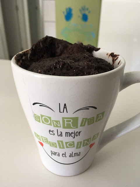 Chocolate Mug Cake Without Flour