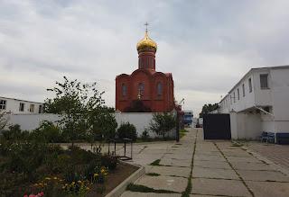 Мелитополь. Монастырь Саввы Освященного. Храм Преображения Господня