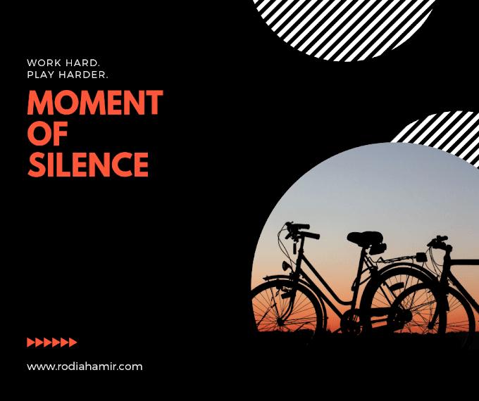 Moment Of Silence Bagi Seorang Ibu