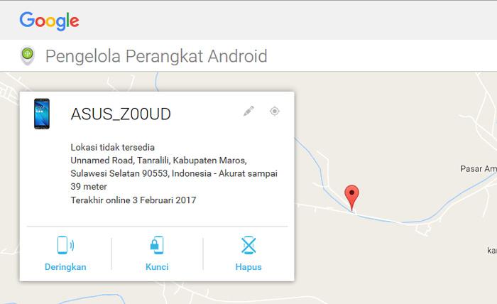 Cara Menderingkan Ponsel Android Kalian Yang Hilang