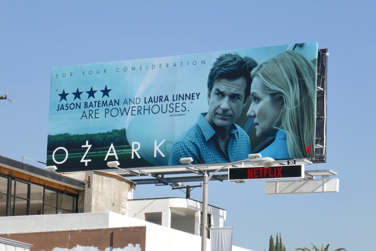 Ozark season 3 FYC billboard