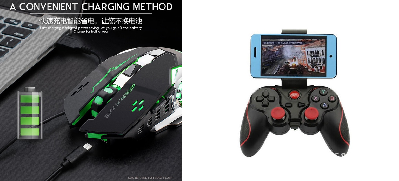 Giveaway Mouse Free Wolf & Gamepad Android