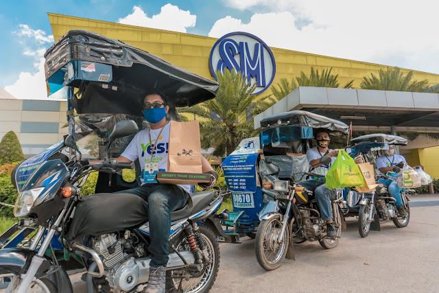 SM, LGU HELP TRICYCLE DRIVERS IN BALIWAG