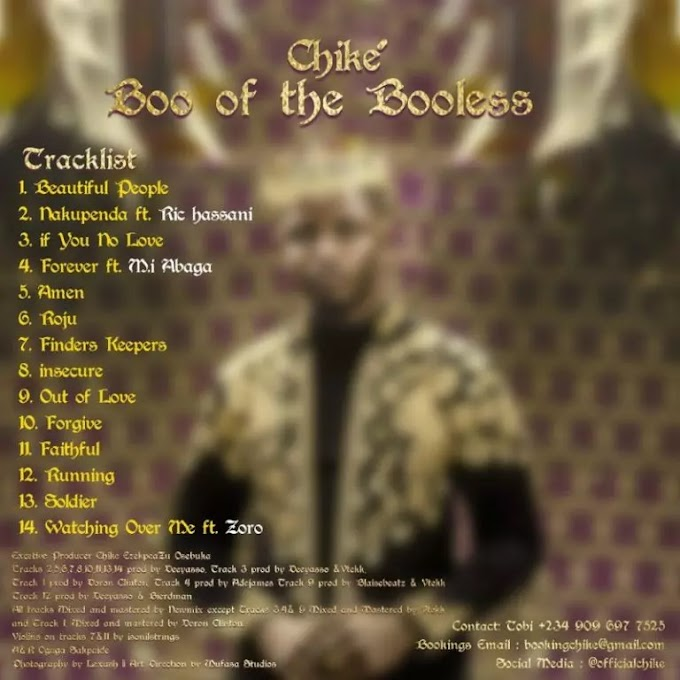 "Chike – ""Nakupenda"" ft. Ric Hassani"