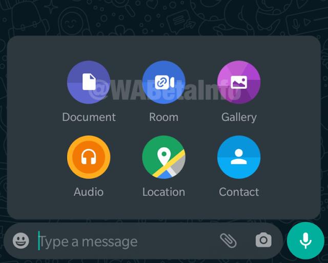 WhastApp Facebook Messenger Room