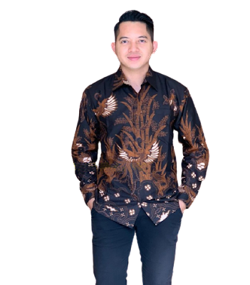 Kemeja Batik Pria Solo Lengan Panjang KBP 06