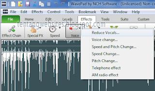 Cara mudah menghilangkan suara vokalis lagu mp3