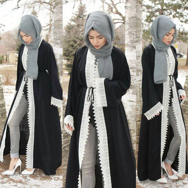 Hijab look book for Islamic women.
