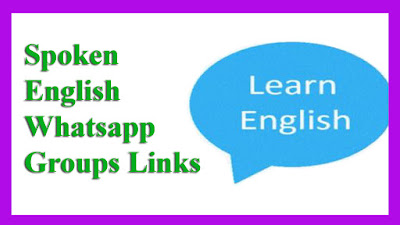 Spoken English Whatsapp Groups Links