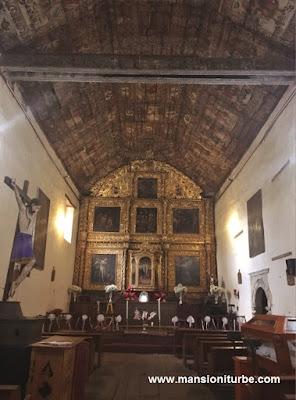 Templo de Santiago Apóstol en Tupátaro, Michoacán