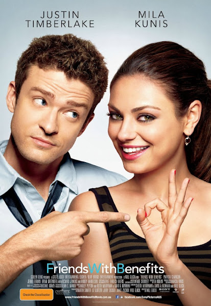 Poster of Friends With Benefits 2011 720p Hindi BRRip Dual Audio Download