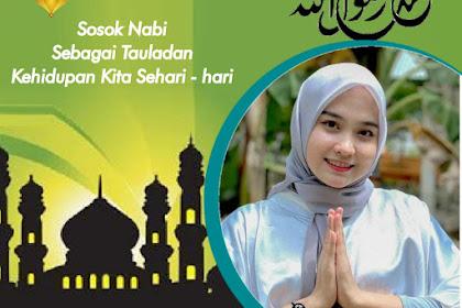 7 Link Twibbon Maulid Nabi Muhammad 1443 / 2021 Paling Keren