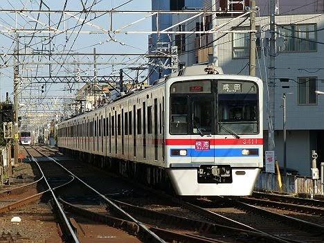 京成電鉄 快速 成田行き6 3400形
