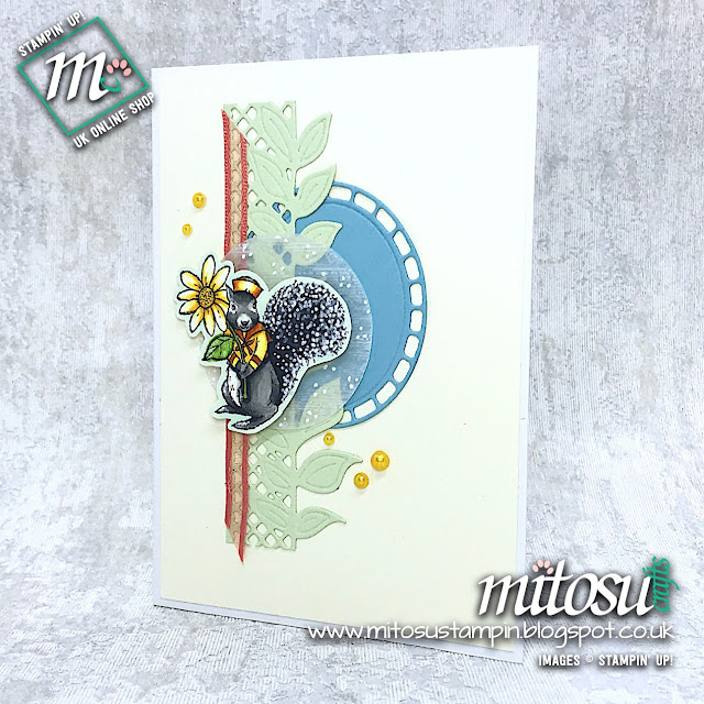 Fable Friends Stampin' Up! Card Idea. Order Cardmaking Products  from Mitosu Crafts Online Shop