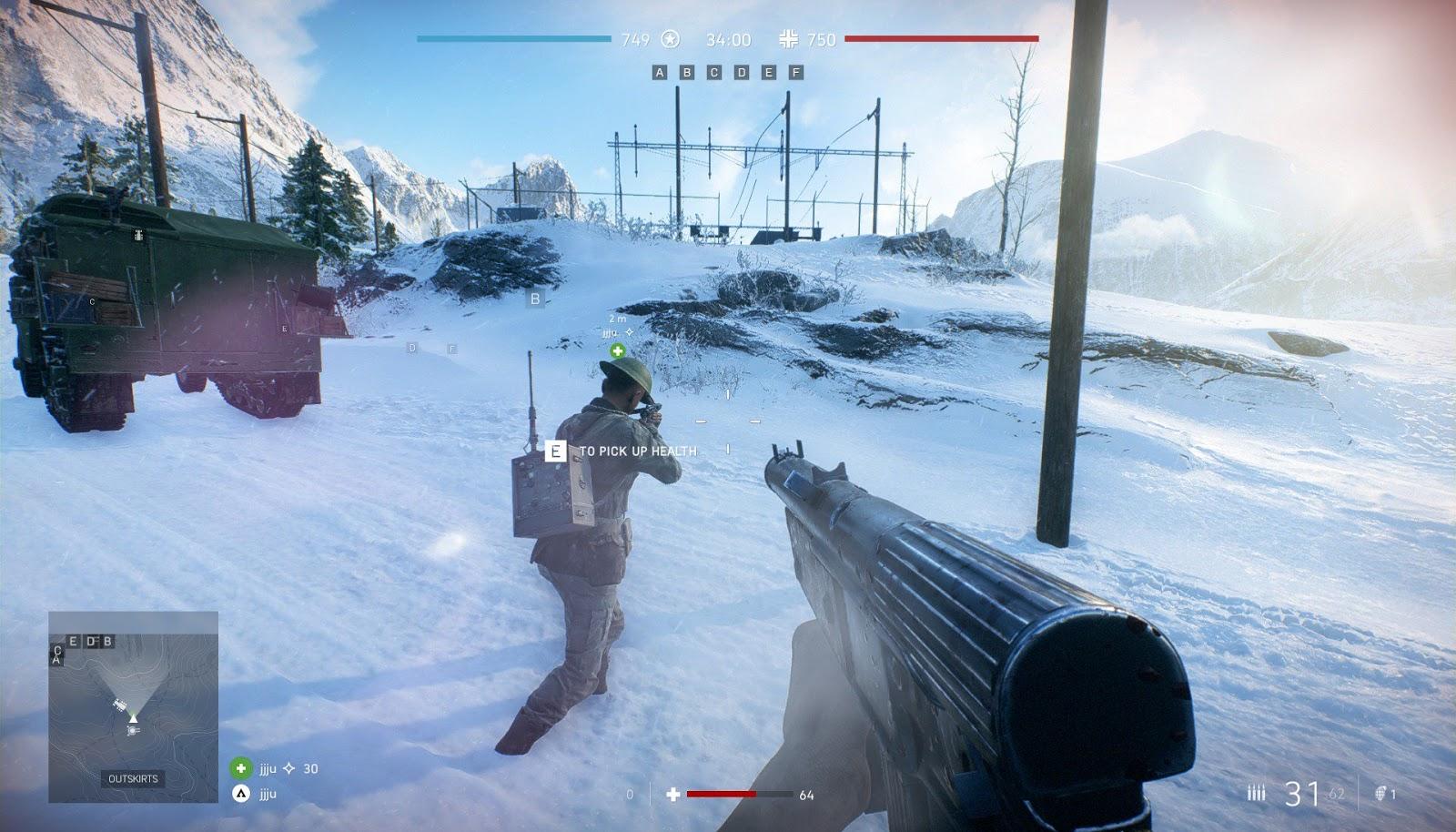 Battlefield V: Mecânica de reabastecimento será adicionada no próximo patch