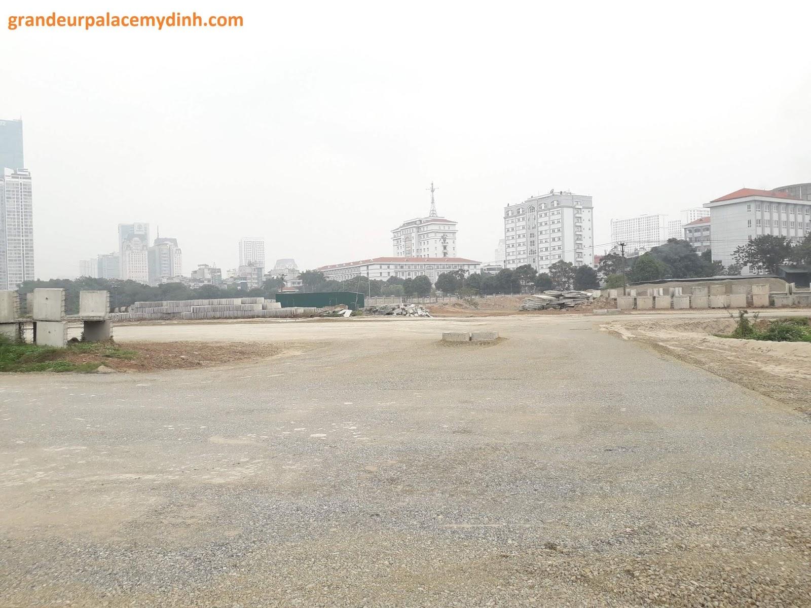 Tốc độ đường Trần Hữu Dực - Phạm Hùng đang rất nhanh.