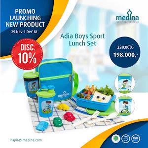 Adia Boys Sport Lunch Set
