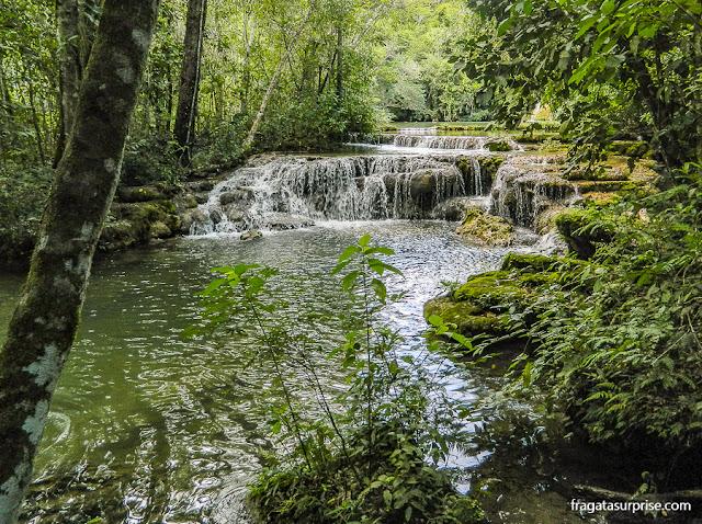 Cachoeira em Bonito, Mato Grosso do Sul