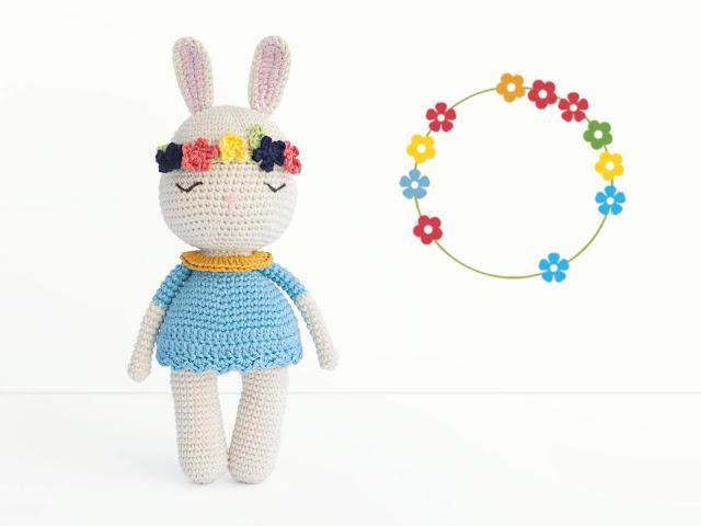 amigurumi-bunny-conejo-conejita-flores-crochet