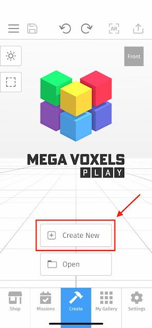New Voxel Scene