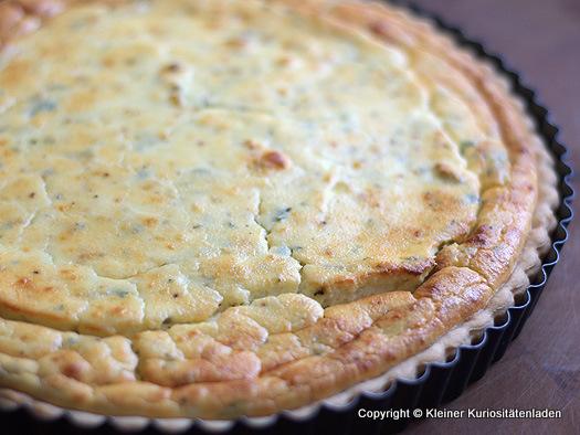 Dusy Sommerküche : Ricotta kräuter tarte
