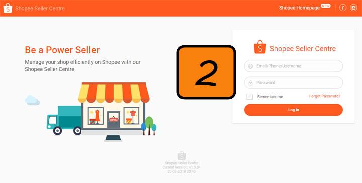 Cara nak jual produk di Shopee