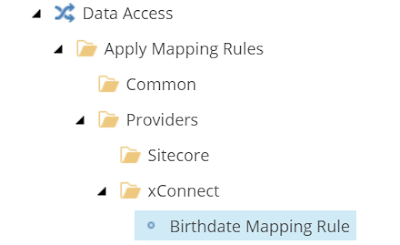 Null Value Mapping Rule