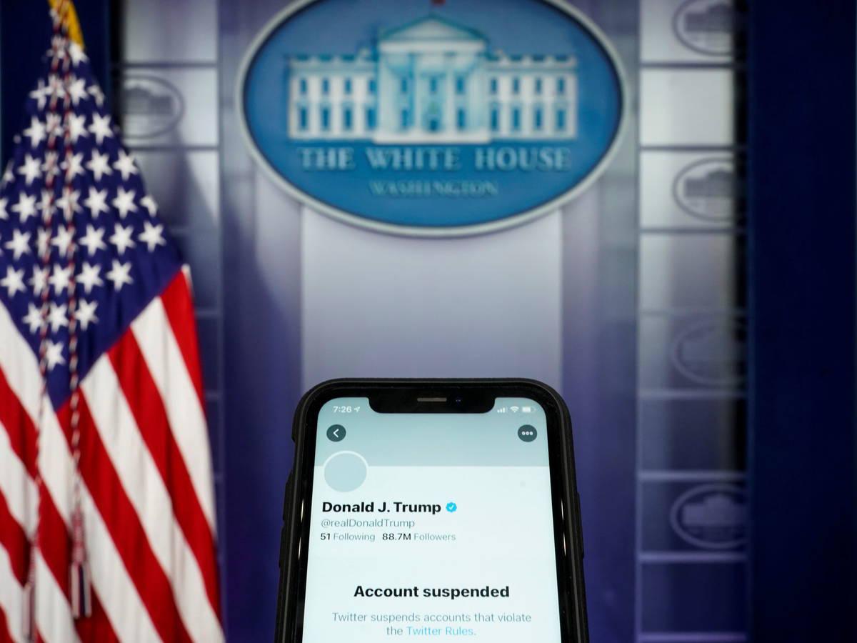 Twitter suspendió 70.000 cuentas asociadas a un movimiento a favor de Trump