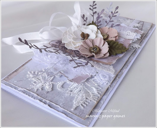 Crafty Cardmakers Challenge # 218 - Lace or Ribbon