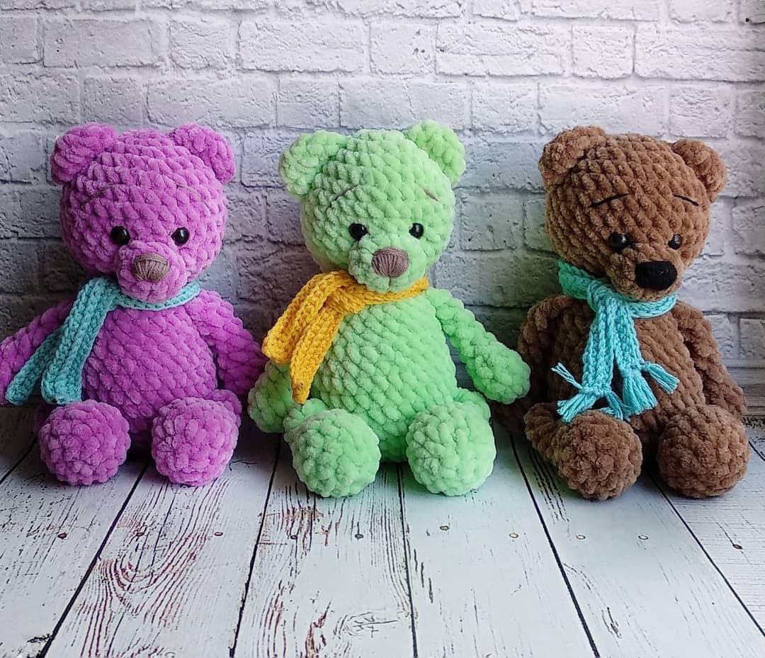 Crochet bears amigurumi pattern