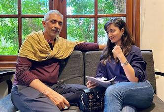Tridha Choudhury and prakash jha