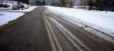 Ανακοίνωση για την κατάσταση του οδικού δικτύου στην Κεντρική Μακεδονία - Συμβουλές για πεζούς και οδηγούς