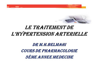 LE TRAITEMENT DE L'HYPERTENSION ARTERIELLE .pdf