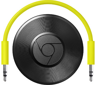 TOP SELLING GOOGLE Chromecast Audio Built-in WiFi Green Android 4.1 iOs 7.0 3.5 mm Jack – £14.00