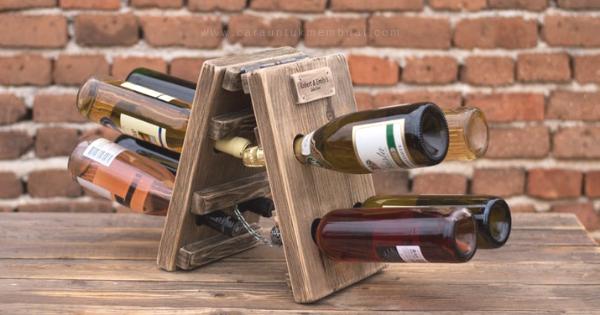 Dekorasi Rak Botol Wine